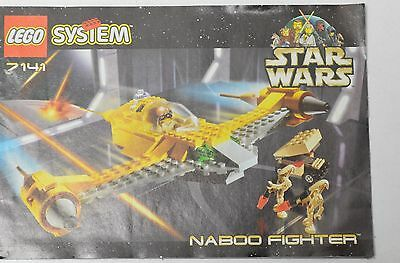 LEGO Star Wars # 7141 INSTRUCTION MANUAL ONLY Naboo Fighter Space Ship Book