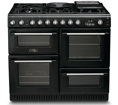 Cannon CH10456GFS - 100cm Dual Fuel Range Cooker with 6 Burner Gas Hob