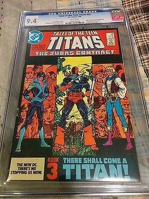 TALES OF THE TEEN TITANS #44 CGC 9.4 1st app NIGHTWING & JERICHO KEY ISSUE!