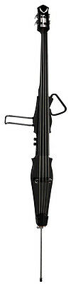 Dean PACECONTRA-CBK -Stand-Up Electric Upright Bass w/ Case - Classic Blk - NEW!