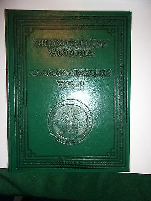 Giles County Virginia History- Families Vol. Ii