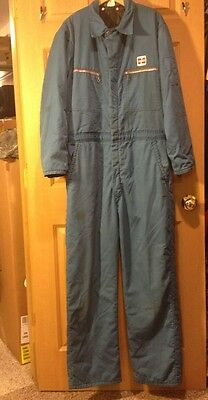Vintage Gas Service Station Mechanic CENEX COVERALLS by UNITOG M OIL