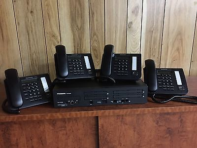 New Panasonic NS700 Phone System with  ISDN BRI  Lines and Digital Phones