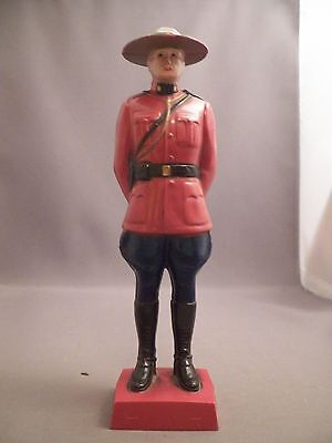 Reliable Royal Mounted Police Figure 8 Inches Tall Hard Plastic
