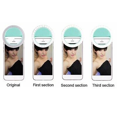 Selfie Portable LED Ring Fill Light Camera Photography for iPhone Android