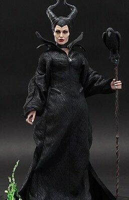 SIDESHOW COLLECTIBLE HOT TOYS DISNEY MALEFICENT Angelina Jolie 1:6 FIGURE