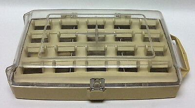 Vintage Avant Thread Storage Box - Avant Products Sewing Box - Sewing Case