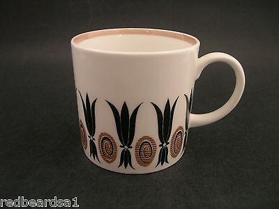 China Replacement Wedgwood Susie Cooper Corinthian Coffee Cup C2056 c1960s