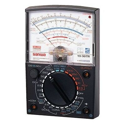 NEW SANWA Analog Multimeter Full featured YX-361TR