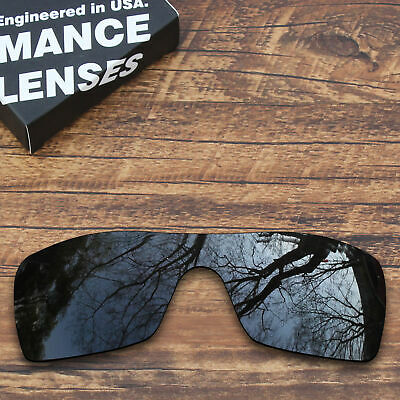 T.A.N Polarized Lenses Replacement for-Oakley Batwolf Sunglasses-Black