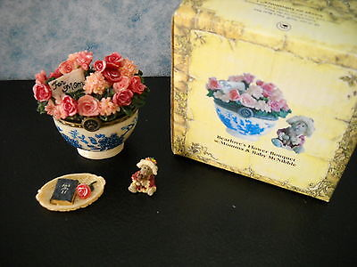 *boyds Bears**treasure Box**bearlove's Flower Bouquet W/momm**sty#82530*se*w/box