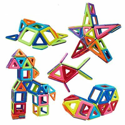 91pcs Magnetic Building Similar Magformers Toys Sets Magspace Alphabet Animals