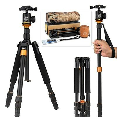 Compact Tripods & Monopods Light Aluminium Tripod with Ball Head for Camera DLSR