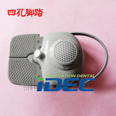 Dental Foot Pedal multipurpose pedal 4-hole Switch for dental chair  1PC