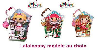Lalaloopsy 33 cm, Misty Mysterious, Toffee Cocoa Cuddles ou Prairie Dusty Trails
