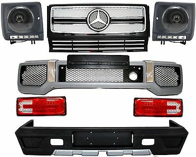 Mercedes W463 G65 G63 AMG Kit carrosserie Pare-chocs Grille Phares Feux Arriere
