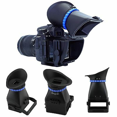 """3.0X Universal 3"""" 3.2"""" Screen LCD Viewfinder For CANON Nikon Sony DSLR Camera"""