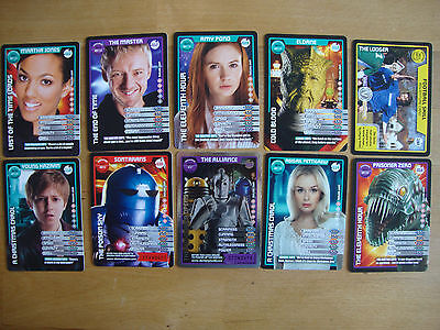 10 Doctor Who Trading Cards Lot 25