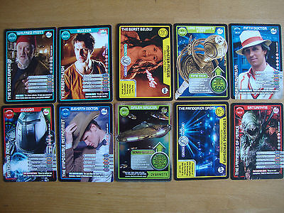 10 Doctor Who Trading Cards Lot 15