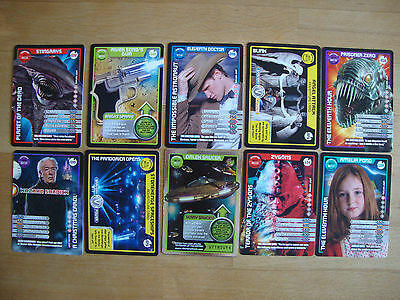 10 Doctor Who Trading Cards Lot 10