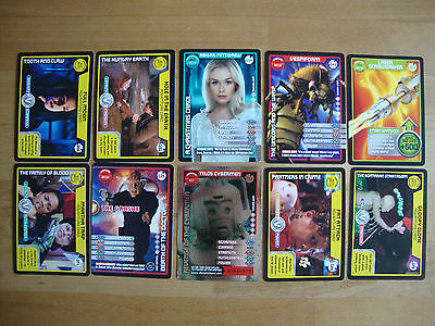 10 Doctor Who Trading Cards Lot 12
