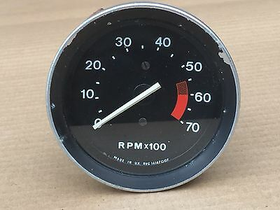 Mgb (1976-80) Rev Counter /tachometer, Smiths Rvc 1414, Full Working Order