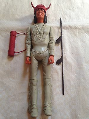 Marx Silver Knight Near Complete Boxed Rare And Indian Geronimo