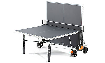 Grey Cornilleau Sport 250S Crossover Outdoor Table Tennis Table With Accessories