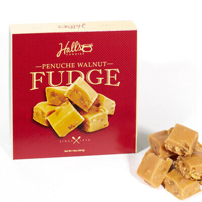 Hall's Penuche Walnut Fudge, 1 Pound