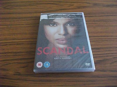 Scandal *NEW & SEALED* : The Complete First Season DVD Region 2
