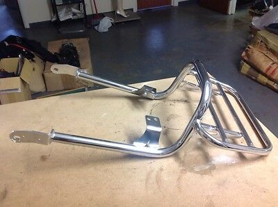 Triumph Bonneville Chrome Rear Luggage Rack