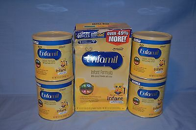 Lot Of Enfamil Infant Formula With Iron