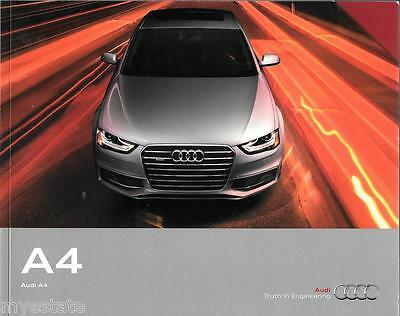 2015 15  Audi  A4  original sales  brochure  MINT