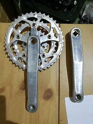vintage White Industries MTB crankset 175mm 42-32-20T by Sugino