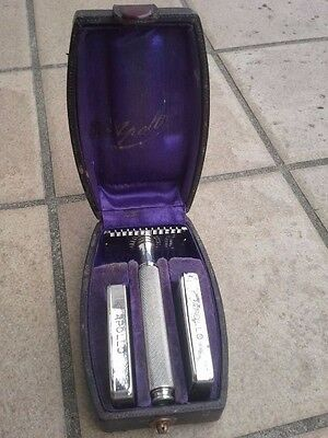 Vintage APOLLO  razor - original set with original case and blades!!!