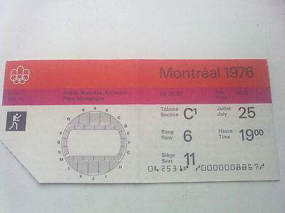 Ticket Olympic Games MONTREAL 25.07.1976 - BOXING (19:00)