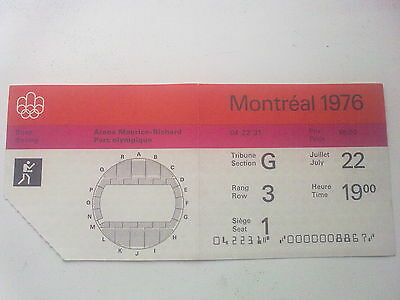 Ticket Olympic Games MONTREAL 22.07.1976 - BOXING (19:00)