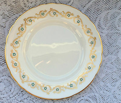 "Tuscan Bone China England 'Gold Imperial' Plate 8"" (368)"