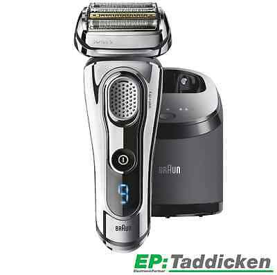 BRAUN Series 9 9295 cc System Clean & Charge 50 Euro Cash Back Rasierer TOP NEU