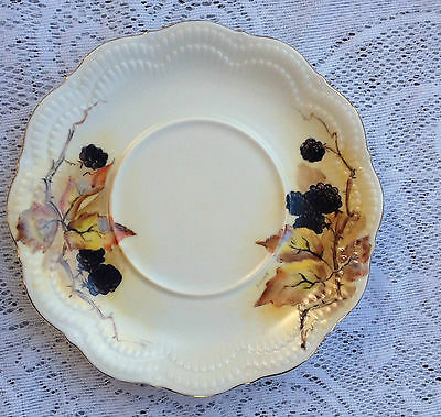 Schirnding Bavaria Germany signed 'Shirley' Autumn/Fall Dish (367)