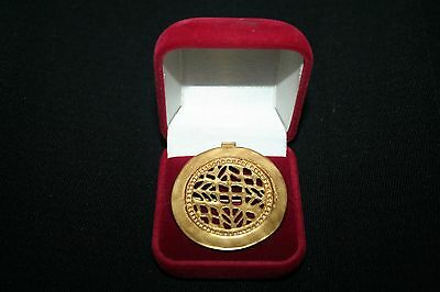 Pendant - 24k Gold Plated Pre Columbian Jewelry