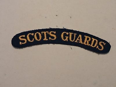 Insigne Badge Commonwealth  Scots Guards