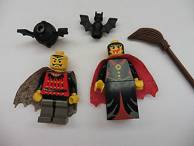 Lego, Minifigures, Fright Knight Bat Lord, Witch, 6097 etc.