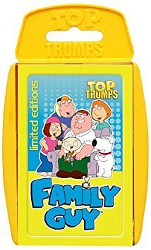 Family Guy Top Trumps Card Game Brand New Sealed
