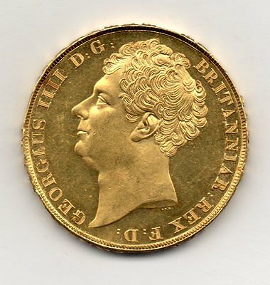 1823 Gold Two Pound (Double Sovereign), George Iv