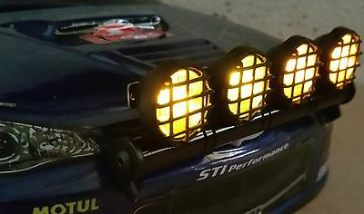 1/10 1/8 RC Car Buggy Truck Led Lights Set Yellow 5 Modes