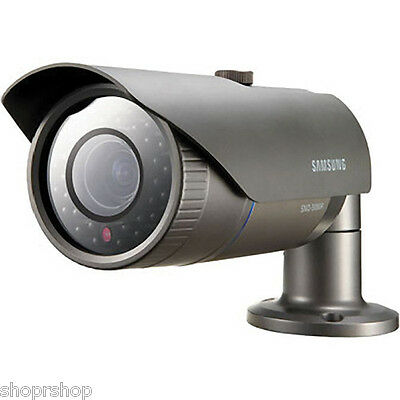 Samsung SNO-7080R 3 MP Full HD Weatherproof Network IR Bullet Camera