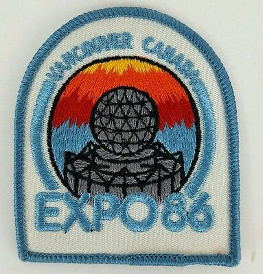 Vancouver Canada Expo 1986 Patch