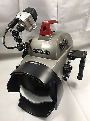canon xl1 with Subal Underwater Housing