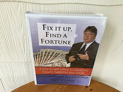 Fix It Up Find A Fortune Real Estate Course By Pete Youngs - WORKBOOK & 6 DVD'S!